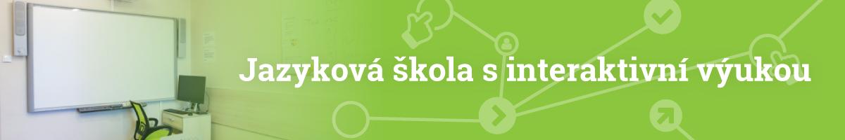 Jazyková škola s interaktivní výukou